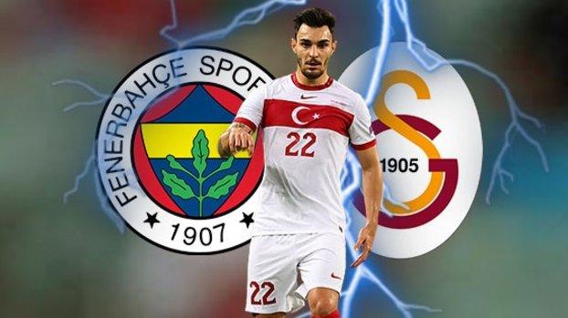 Fenerbahçe ve Galatasaray'ın Kaan Ayhan yarışı!