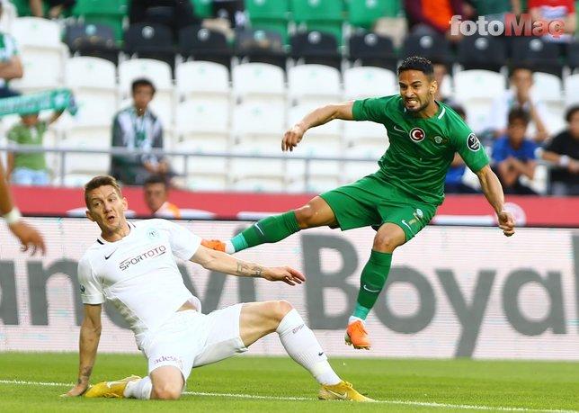 Konyaspor - Akhisarspor maçından kareler...