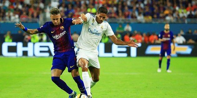 El-Clasico Barça'nın