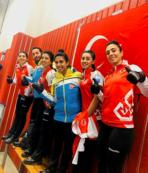 Kadın Curling Milli Takımı Avrupa ikincisi