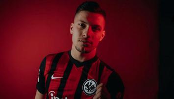Luka Jovic Eintracht Frankfurt'ta!