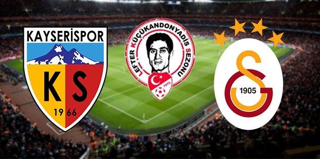 Kayserispor - Galatasaray   CANLI