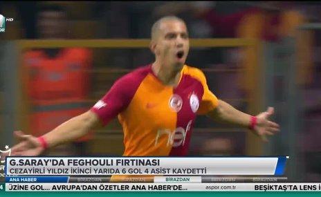 Galatasaray'da Feghouli fırtınası