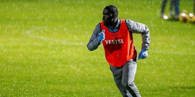 Trabzonspor'da Ndiaye'nin lisansı yetişecek