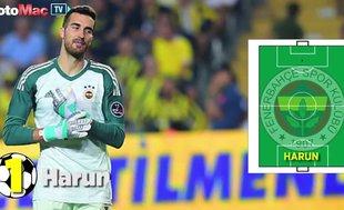 Fenerbahçe'nin Spartak Trnava karşısıdaki ilk 11'i...