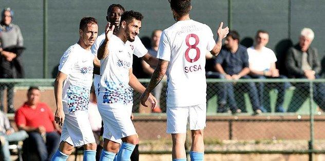 Trabzon gol yağdırdı
