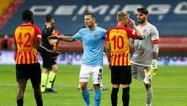 Kayserispor Gaziantep FK 0-0 (MAÇ SONUCU - ÖZET)