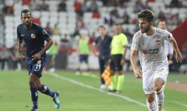 Sivasspor ile Antalyaspor 21. randevuda
