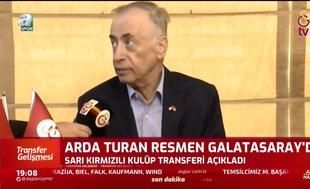 Mustafa Cengiz: Arda Turan Galatasaray ruhunun bir parçasıdır