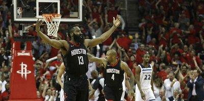 Rockets, Timberwolves'u eledi