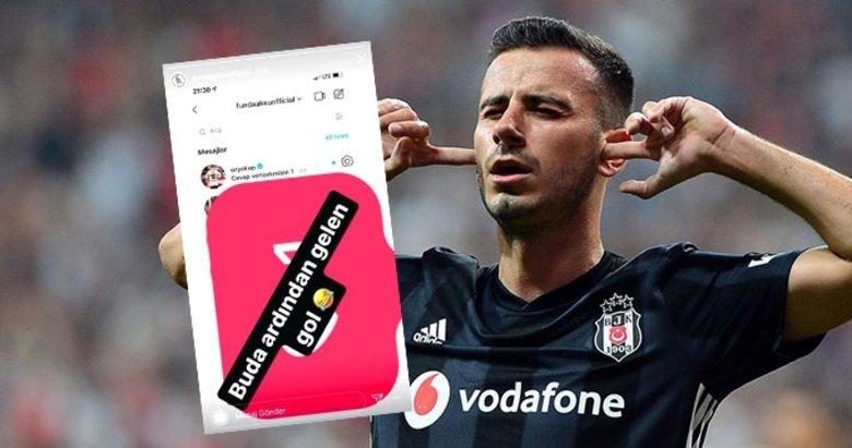 Beşiktaşlı Oğuzhan Özyakup'un attığı mesajlar ifşa oldu! Açıklama geldi