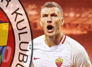 Menajeri açıkladı! Dzeko Fenerbahçe'ye...Son dakika transfer haberleri...
