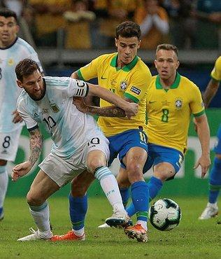 Dev maçta kazanan Brezilya!