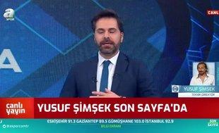 Yusuf Şimşek: Ben olsam play-off'u kabul etmem