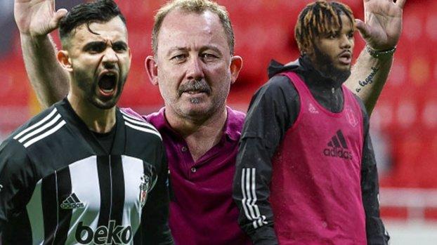 Son dakika Beşiktaş haberi: Beşiktaş'ta Sergen Yalçın'ın yeni sözleşme şartı belli oldu! Ghezzal ve Rosier ile beraber...