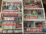 İşte Trabzon yerel basınında şampiyonluk yankıları!