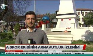 A Spor ekibinin Arnavutluk izlenimi