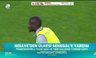 Ndiaye'den ülkesi Senegal'e yardım