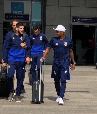 Fenerbahçe kafilesi Dinamo Zagreb maçı için Hırvatistan'a geldi