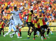 Göztepe - Ankaragücü maçından kareler
