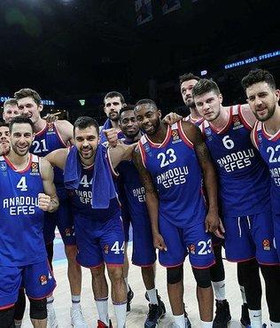 EuroLeague'deki Türk derbisi Anadolu Efes'in!