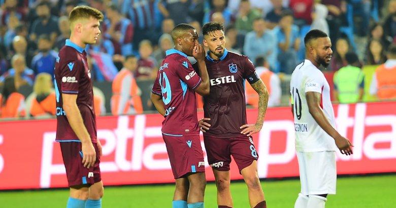Trabzonspor'un yeni transferi Sturridge ilk kez sahada