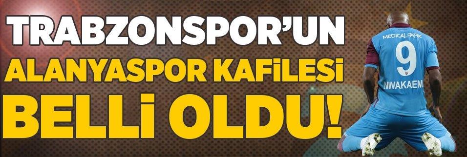 son dakika trabzonsporun alanyaspor maci kafilesi belli oldu 1595931936201 - Trabzonspor'da test sonuçlar belli oldu! Corona virüsü...