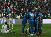 Bursaspor - Çaykur Rizespor maçından kareler