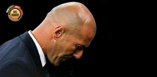 Zidane'ın acı günü!