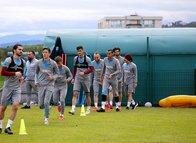 İşte Trabzonspor'un idmanından kareler!