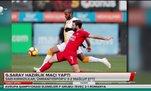 Galatasaray hazırlık maçında Ümraniyespor'u yendi