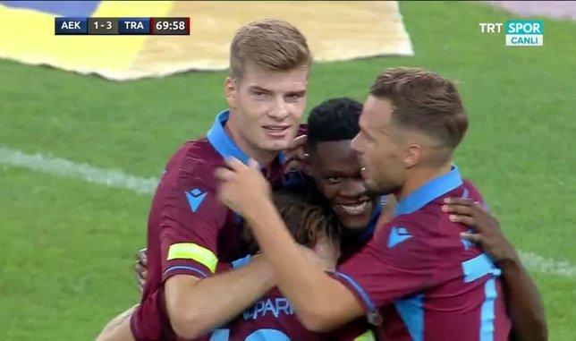 İşte Trabzonspor'un üçüncü golü
