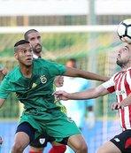 Lucescu, Fenerbahçe - A.Bilbao maçını izledi