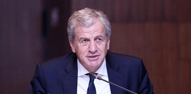 Son dakika: TFF Başkanvekili Servet Yardımcı: Ülkemize hayırlı olsun - UEFA Şampiyonlar Ligi -