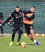 Beşiktaş BB Erzurumspor maçının hazırlıklarını tamamladı