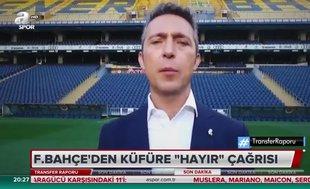 Fenerbahçe'den 'küfüre hayır' çağrısı