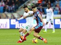 Trabzonspor - Alanyaspor maçından kareler