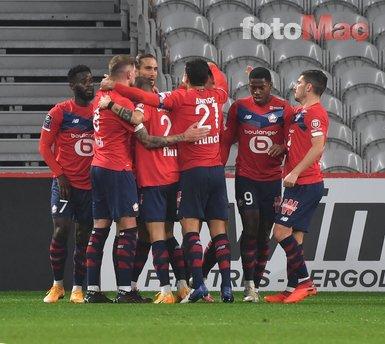 Lille'de gollerine devam eden Yusuf Yazıcı Fransa'da yine manşetleri süsledi!