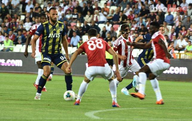 Sivasspor - Fenerbahçe maçından kareler