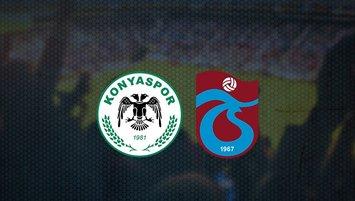 Konyaspor - Trabzonspor maçı saat kaçta ve hangi kanalda?