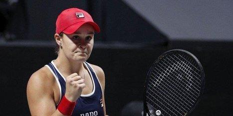 WTA finallerinin 5. günü tamamlandı