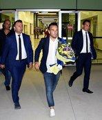 Fenerbahçe Göztepe maçı için İzmir'e geldi