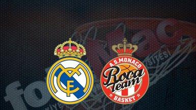 Real Madrid - Monaco maçı ne zaman? Saat kaçta ve hangi kanalda canlı yayınlanacak? | THY Euroleague