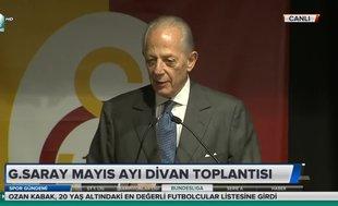 Galatasaray eski başkanı Faruk Süren'den flaş 'tehdit' cevabı