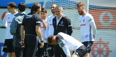 Beşiktaş mesaiye başlıyor