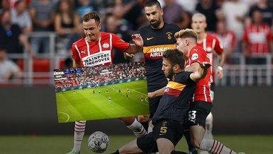 PSV Galatasaray maçında kriz! İllegal bahis sitelerinin reklamları ve kesintiler gündem oldu