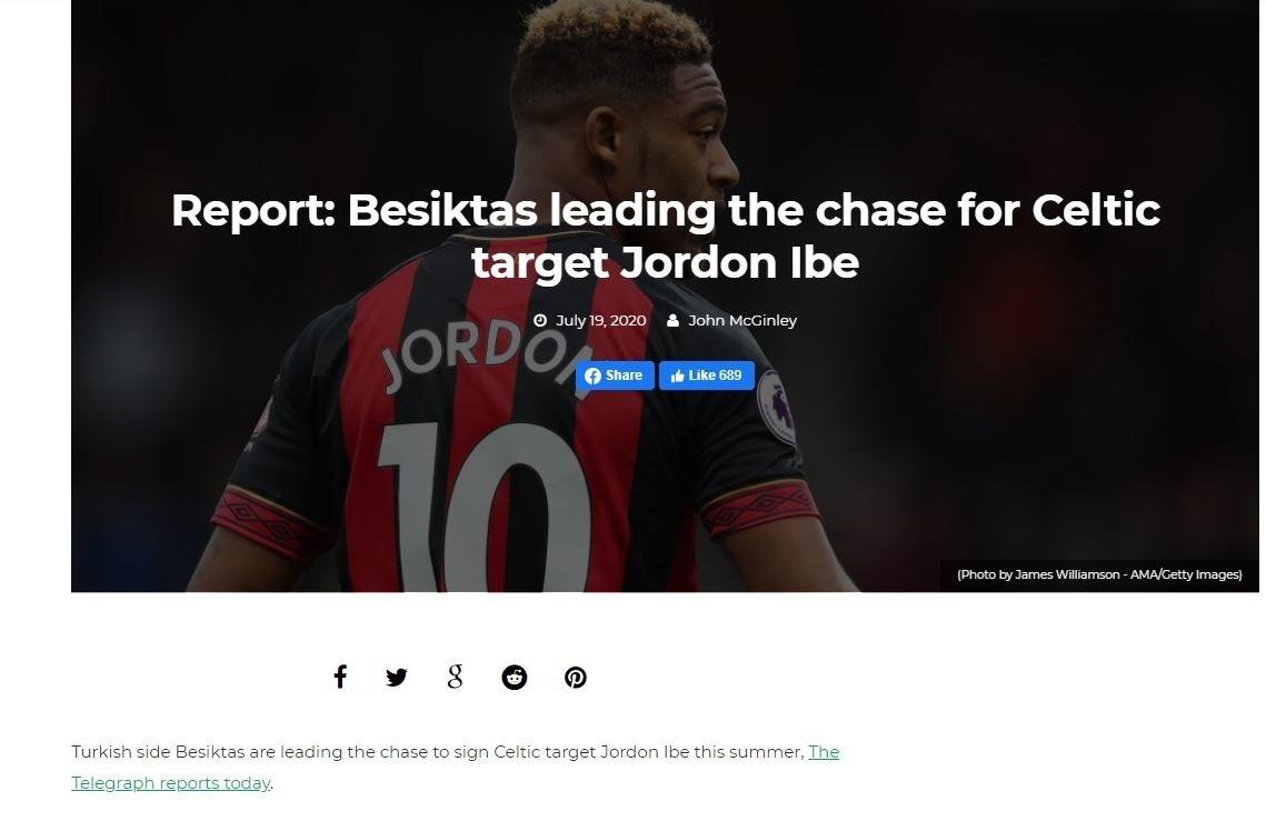 besiktasta jordan ibe sesleri 1595228414063 - Beşiktaş'ta Jordan Ibe sesleri!