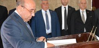 TKF yönetimi Anıtkabir'i ziyaret etti