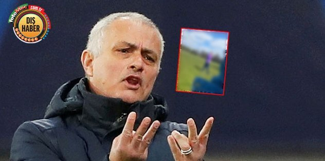 Mourinho karantina dinlemedi! Böyle görüntülendiler - Tenis -