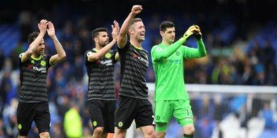 Lider Chelsea deplasmanda kazandı